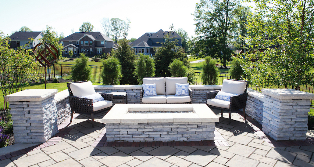 Custom Backyard Patio | Hittle Landscaping