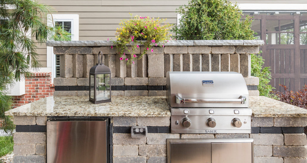 Backyard barbecue cooking dream | Hittle Landscaping