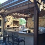 Custom Outdoor Kitchen Design | Hittle Landscaping
