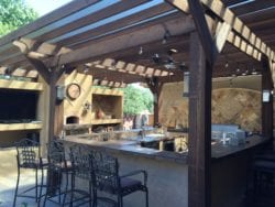 Custom Outdoor Kitchen Design | Hittle Landscaping