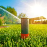 Water irrigation system in yard | fertilize yard | Hittle Landscaping