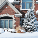 Snow covered winter foliage | Hittle Landscaping