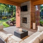 Outdoor Viewing Area | Football Parties and Landscaping Ideas | Hittle Landscaping