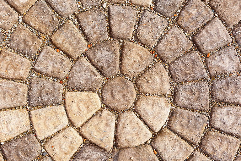 Hardscape Pavers Circle Pattern | Difference Between Hardscapes and Softscapes | Hittle Landscaping