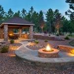 Hardscapes in backyard | Various Landscape Design Materials | Hittle Landscaping