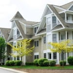 row of condos or apts | 3 Considerations When Hiring a Commercial Landscape Company | Hittle Landscaping