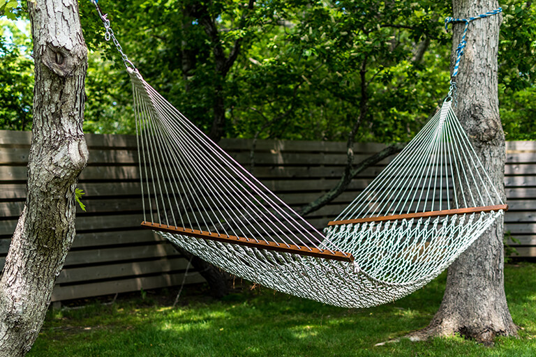 hammock | Make the Most of Nature Elements in Backyard Design | Hittle Landscaping